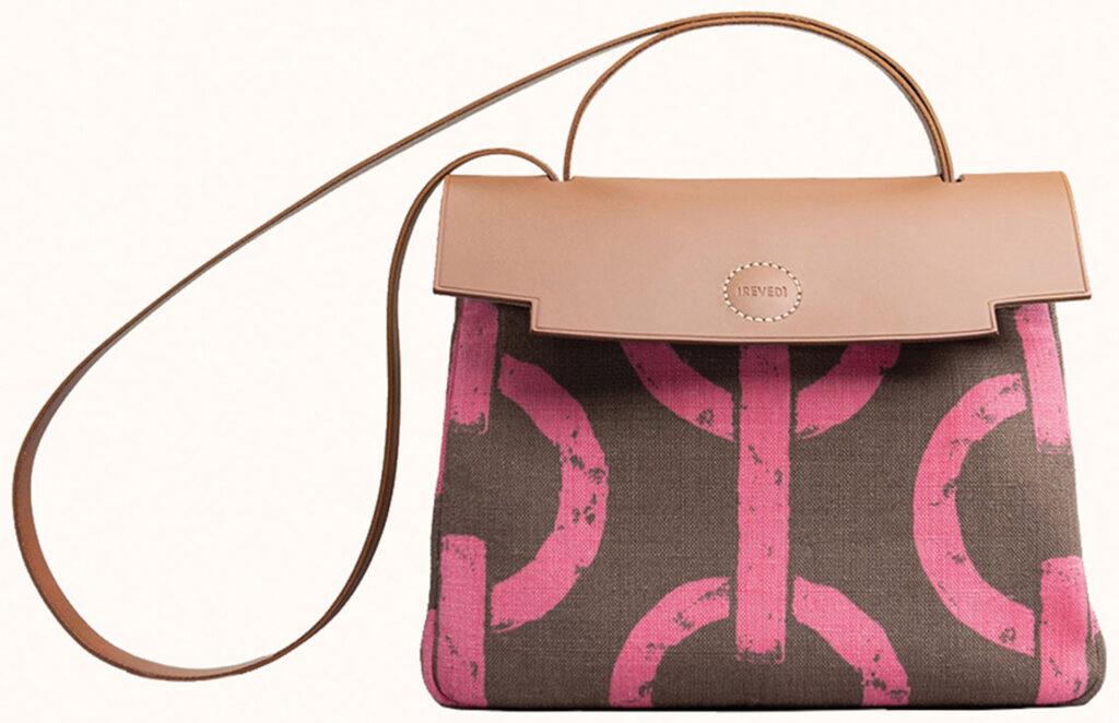 women's brown leather shoulder bag