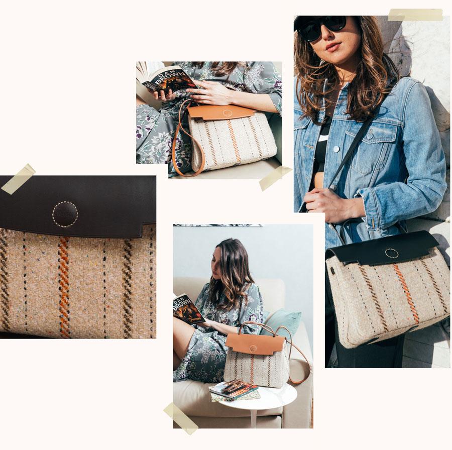 ray bag stia borse per donna in pelle e tessuto